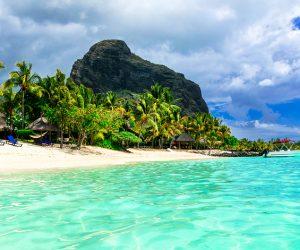 Mauritius. Le Morne beach